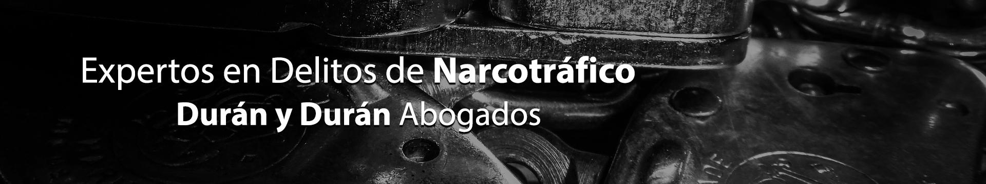 Delito de Narcotráfico